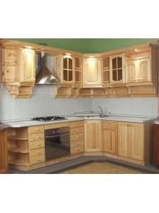 """Кухонный гарнитур""""Милена"""" массив дерева Сосна, Береза, Бук, Дуб. Возможно изготовление по вашим размерам. Гарантия: 12 месяцев. Срок изготовления: 5-10 рабочих дней"""