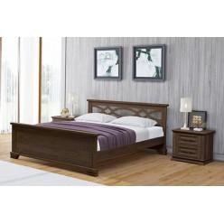 """Кровать """"Лира"""" массив дерева: Сосна, Береза, Бук, Дуб. Возможно изготовление по вашим размерам. Гарантия: 12 месяцев. Срок изготовления: 5-10 рабочих дней. (Узнать подробнее)"""