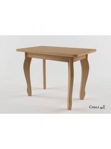 Стол № 4Д раздвижной 60*100+30
