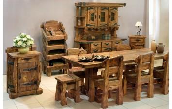 Мебель с искусственным старением дерева